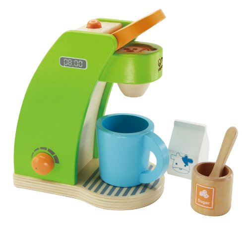 Coffee Maker Wooden Play Kitchen Set