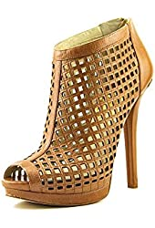 MICHAEL Michael Kors Graham Bootie in Luggage in Brown Luggage