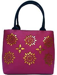 Darash Fashion Women's Stylish Handbag Pink (Bag-1)