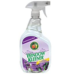 Earth Friendly Products Proline PL9301/32 Window Kleener Lavender Glass and Shiny Surface Cleaner, 32 oz Trigger Spray (Case of 12)