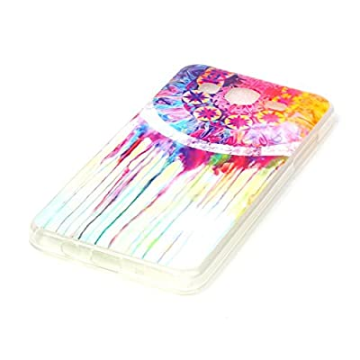 Galaxy On5 Case, MCUK [Anti-Shock] [Scratch Resistant] Slim Flexible Soft Gel TPU Skin Protective Cover Case For Samsung Galaxy On5/G550 (Watercolour Wind)