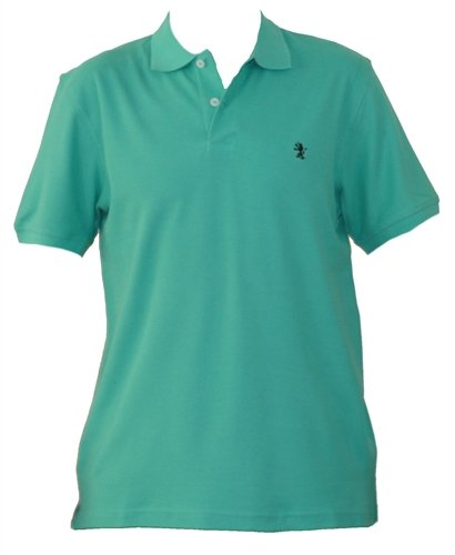 Mens Green Polo Shirt. Size XXX-Large.