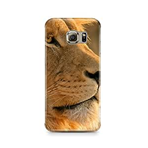 Motivatebox - Samsung Galaxy Note 7 Back Cover - Lion in wild Polycarbonate 3D Hard case protective back cover. Premium Quality designer Printed 3D Matte finish hard case back cover.