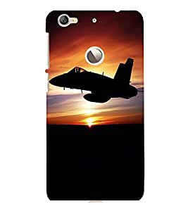 printtech Fighter Planes Army Back Case Cover for LeEco Le 1s