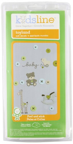Kids Line Wall Decals, Toyland front-1005406