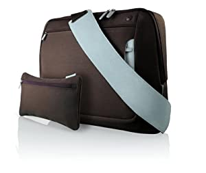 Belkin 17 Inch Messenger Bag - Chocolate/Tourmaline from Belkin