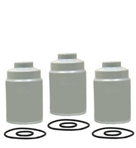 Mac Auto Parts 64794 01-08 Chevrolet GMC 6.6 Duramax Diesel 3 Fuel Filters 3 Pack (Fuel Filter For 2006 Duramax compare prices)