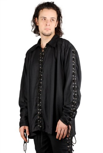 Armor Venue Men's Bully Hayes Shirt - Pirate Clothing Costume