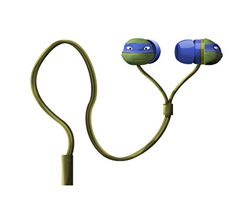 Nickelodeon Teenage Mutant Ninja Turtles Molded Earbuds, Colors May Vary (11365) - 1