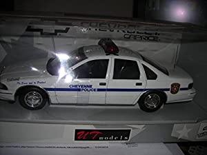 Ut Models 1:18 Chevy Caprice Diecast Police Car