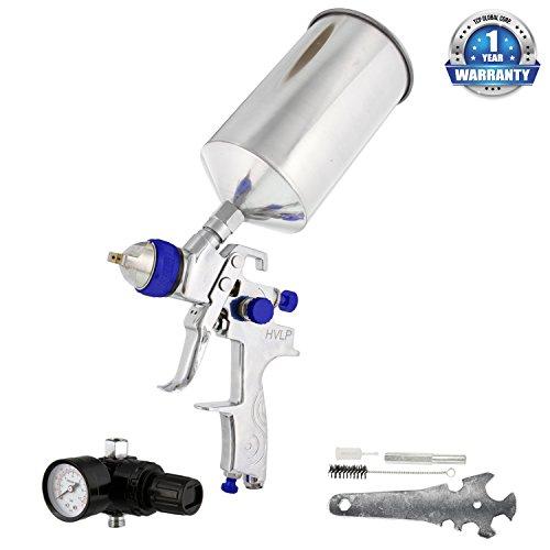 tcp-global-brand-pro-hvlp-multi-purpose-spray-gun-with-15-nozzle-tip-regulator-multi-purpose-gun