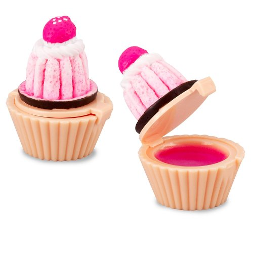 Cupcake Lip Gloss Favor