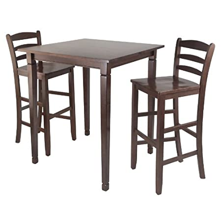 Kingsgate High/Pub Dining Table with Ladder Back High Chair