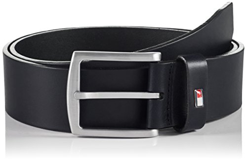 Tommy Hilfiger NEW DENTON BELT-Cintura Uomo,    Blu (MIDNIGHT 403) 90 cm