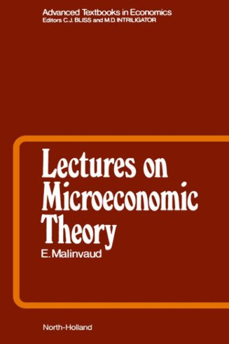 Lectures on Microeconomic Theory (Advanced Textbooks in Economics)