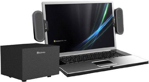 Kinyo 2.1 Multimedia Sound System, 8 Watts