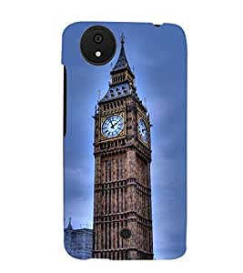 Printvisa Big Ben Clock In London Back Case Cover for Micromax Android A1::Micromax Canvas A1 AQ4502