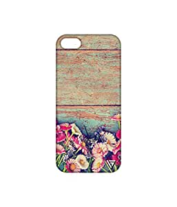 Vogueshell Flowers Printed Symmetry PRO Series Hard Back Case for Apple iPhone 5s