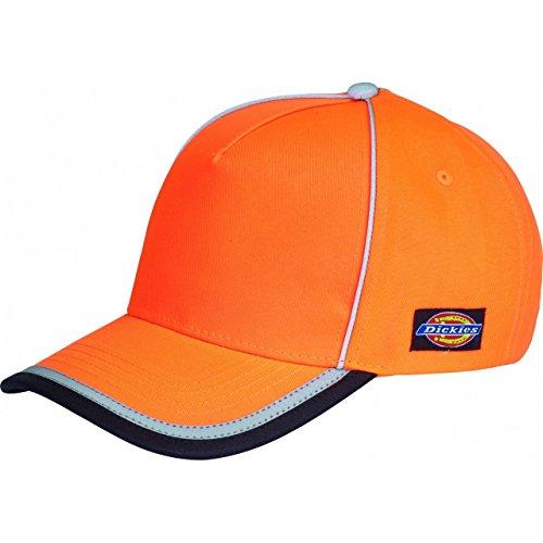 Dickies - Cappellino da baseball alta visibilità - Adulti (Taglia unica) (Arancio)