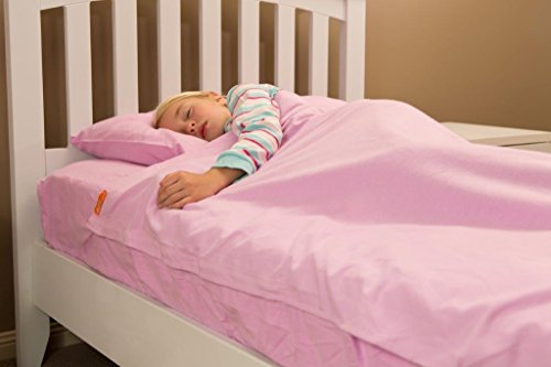 Lilac Flannel Kids Zip Sheets to Fit a Twin Size Bed