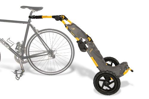 Burley Design Travoy Bike Trailer, Yellow (Bike Trailer Folding compare prices)