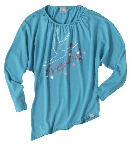 Freddy 36366 T-shirt manica lunga, Azzurro, M