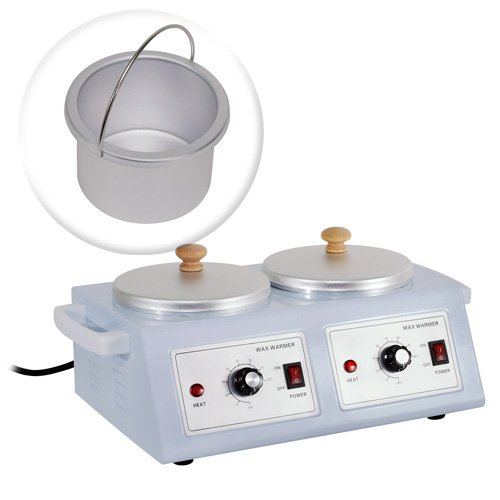 New Professional Double Chamber Wax Warmer