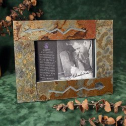 Picture Frames with Southwest Design Etching, 4x6 - Single Frames
