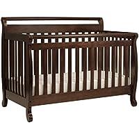DaVinci Kalani 4-in-1 Fixed-Side Convertible Crib with Toddler Rail - Cherry