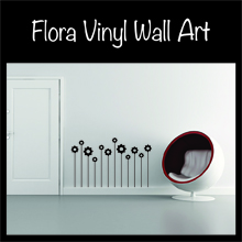Flora Banksy wall art for your home