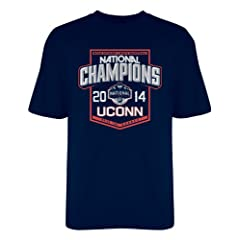 Buy NCAA Connecticut Huskies 2014 National Championship T-Shirt by Old Varsity Brand