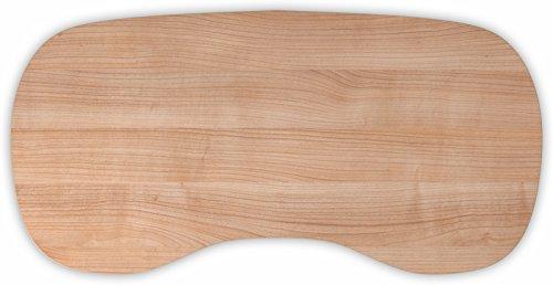 Schreibtischplatte holz  Bümö® stabile Tischplatte 2,5 cm stark – DIY Schreibtischplatte ...