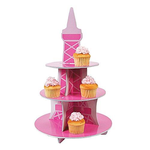 "Perfectly Paris Cupcake Holder. 19"" X 12"". Foam."
