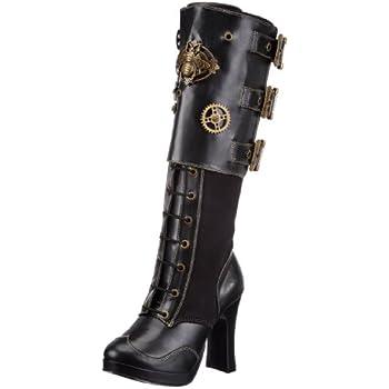 Pleaser Women's Crypto-302 Knee-High Boot