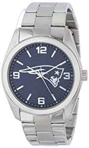 Game Time Unisex NFL-ELI-NE Elite New England Patriots 3-Hand Analog Watch by Game Time