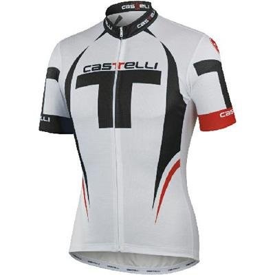 Castelli 2012 Men's Free Full Zip Short Sleeve Cycling Jersey - A12016