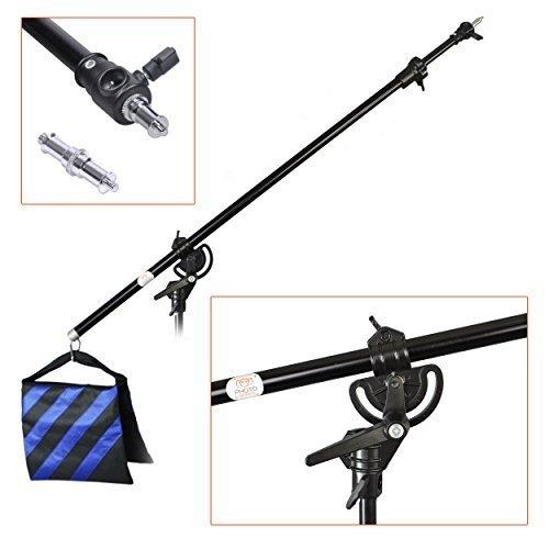 photogeeks-studio-boom-arm-heavy-duty-metal-pivot-hinge-clamp-photography-video-light