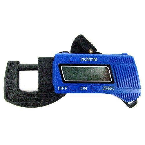 Trademark Tools 75-15005 Digital Thickness Gauge Micrometers Calipers, Carbon Fiber