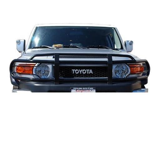 Amazon.com: Toyota FJ Cruiser Grille / Brush Guard Black (Top Mount