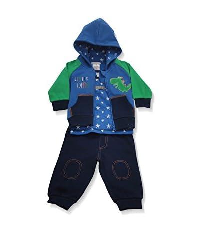 Pitter Patter Baby Gifts Trainingsanzug blau/grün