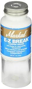 Markal EZ Break Copper Grade Antiseize Paste, 1800 Degree F Temperature by La-Co Industries Inc