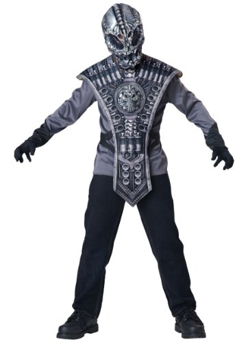 Alien Warrior Kids Costume