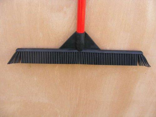 Sweep Clean Rubber Broom