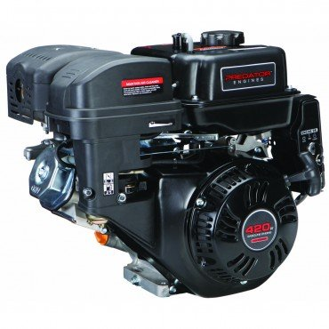 Predator 14 HP 420cc OHV Horizontal Shaft Gas Engine - Certified for California; Fuel Shut Off and Recoil Start (Predator Motor compare prices)