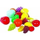 Gowi - 456-01 - Jeu D'imitation - Cuisine - Fruits En Filet - 22 Pièces