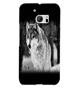 HTC ONE M10 WOLF Back Cover by PRINTSWAG