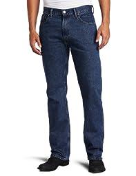 Levi\'s Men\'s 505 Regular Fit Jean, Dark Stonewash, 36x30