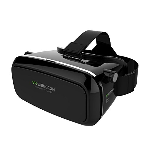 Covenov 3D VR Glasses Virtual Reality Video Glasses Movie Game Glasses Head-Mounted for Google,iPhone,blackberry,Samsung Note,,LG, HTC,xiaomi