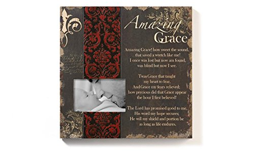 Gift Craft Pine Amazing Grace Picture Frame