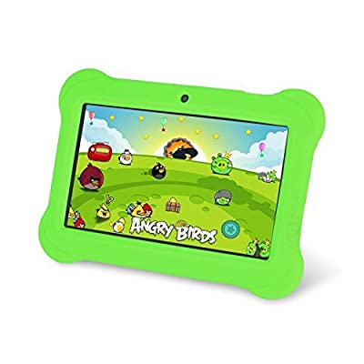 "Zeepad Kids TABZ7 Android 4.4 Quad Core Five Point Multi Touch Tablet PC, 7"", 4GB, Kids Edition, Green"